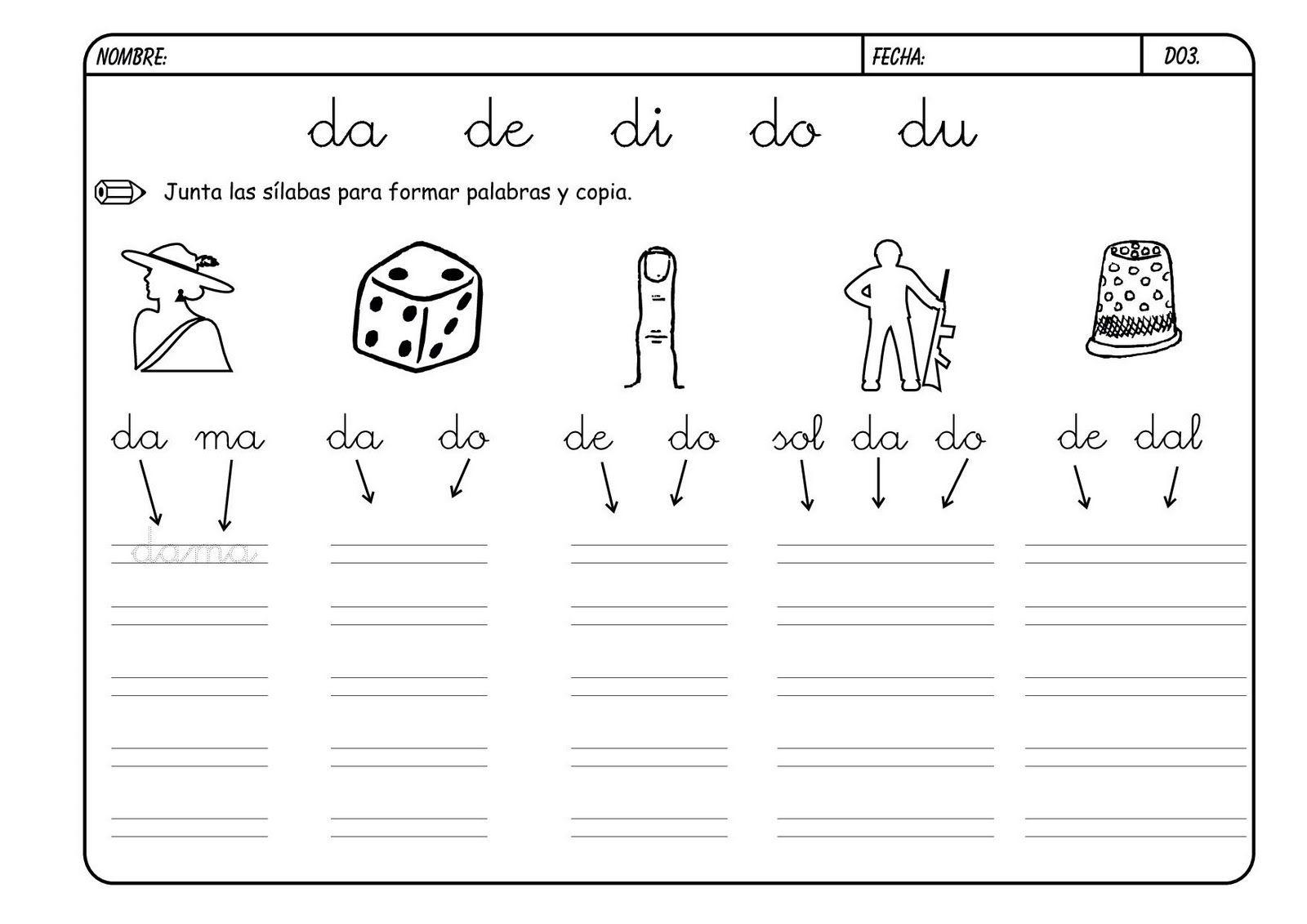 Lectoescritura Con Las Consonantes Hoy Trabajamos La Letra D Y Dr Trabajar La Lectoescritura Mejora El Vocabulario Y L Lectoescritura Letra D Leer Y Escribir