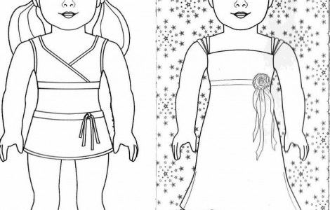 American Girl Doll Coloring Pages To Print | For the girls ...