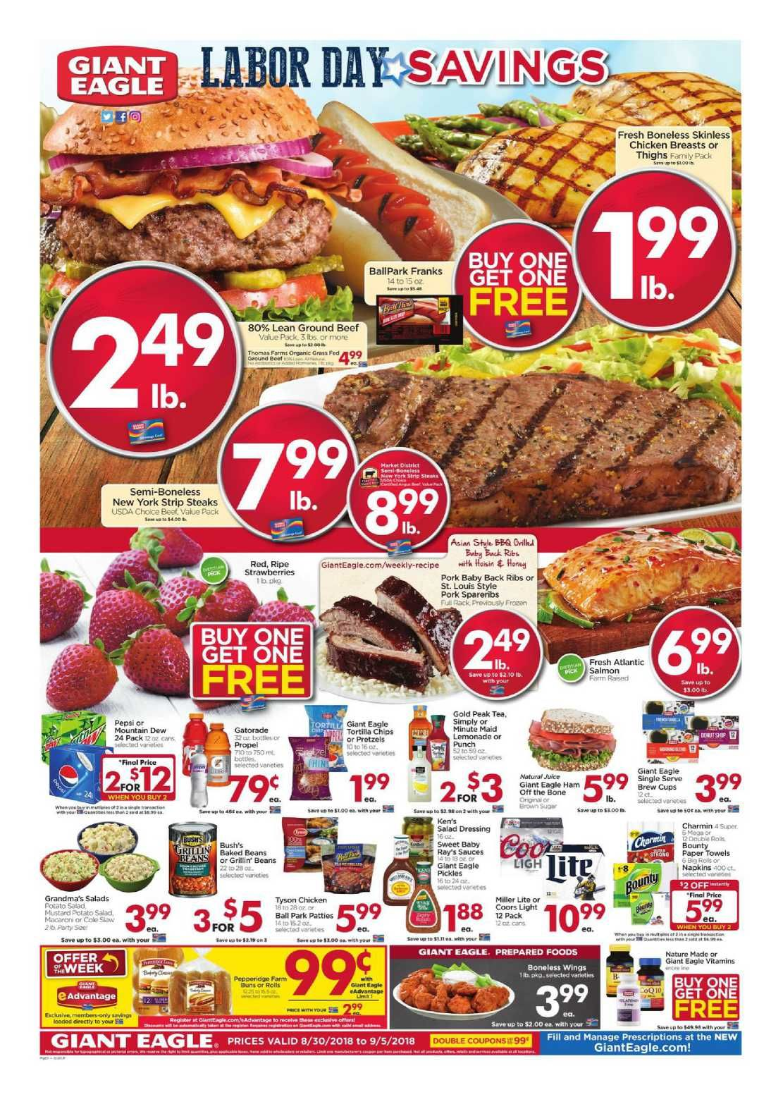 Giant eagle weekly ad flyer february 27 march 04 2020