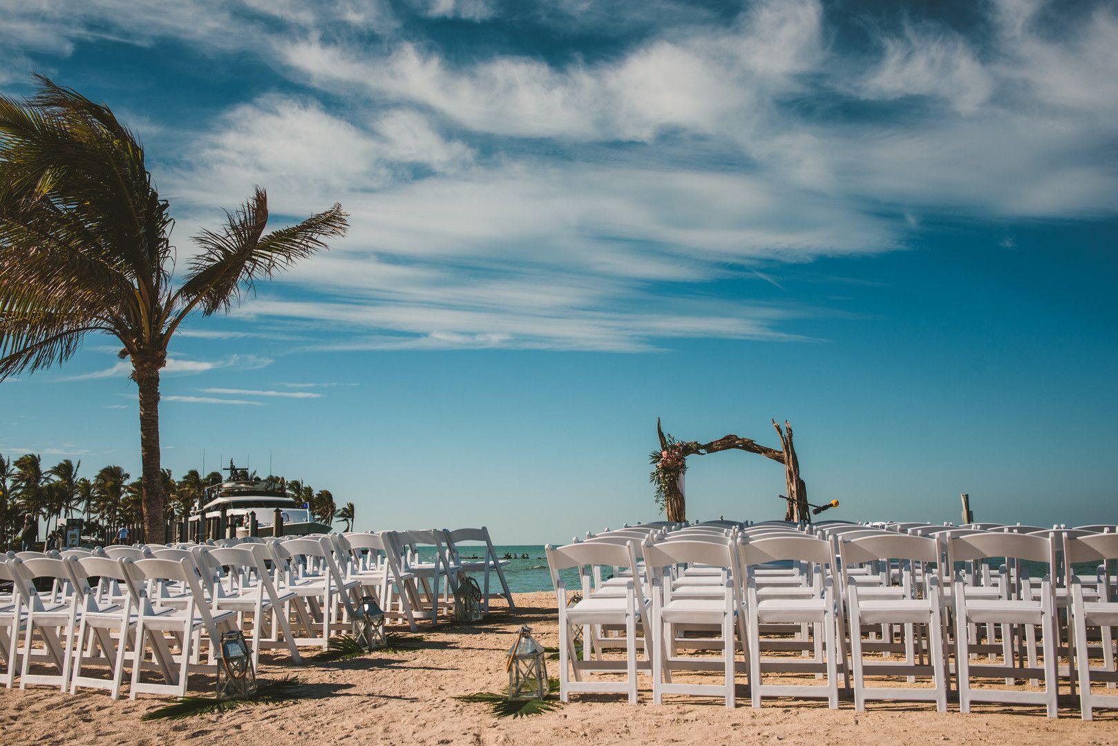 Bohemian waterfront florida keys wedding casey mark