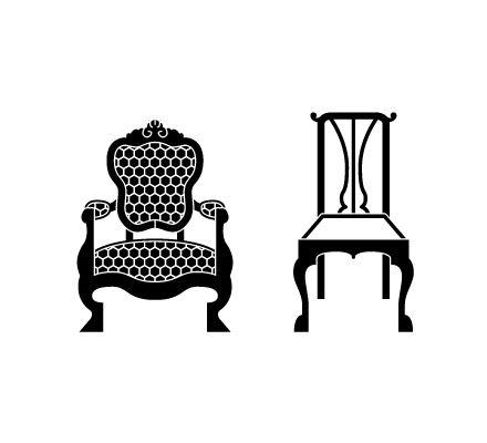 Chair Silhouette Antique Chair Silhouettes Car Silhouette Antique Chairs Silhouette