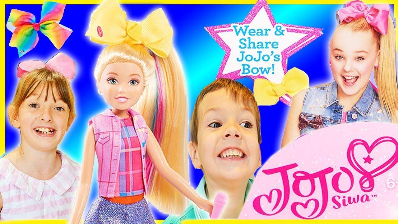 Jojo siwa doll jo jo bow singing boomerang dolls girls