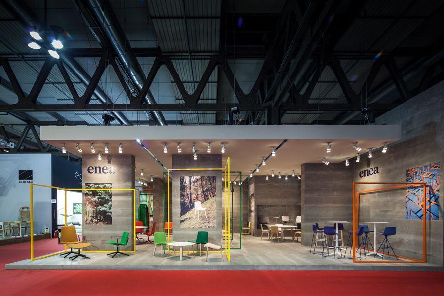 Furniture Design Exhibition new logo for eneaclase bcn — bp&o | exhibitions, booth design