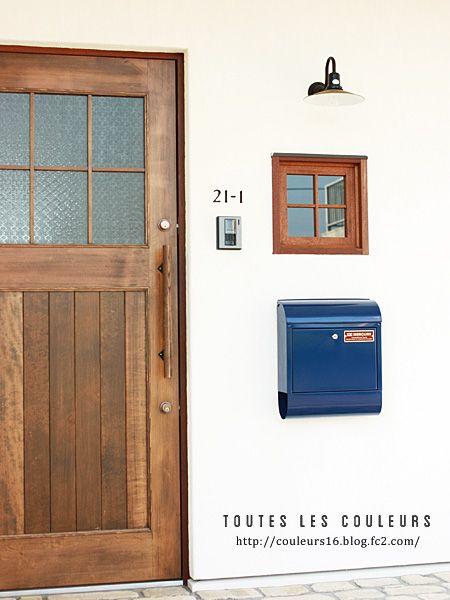 Web内覧会 玄関 テキサスのバーも完成 玄関 2019 玄関ドア