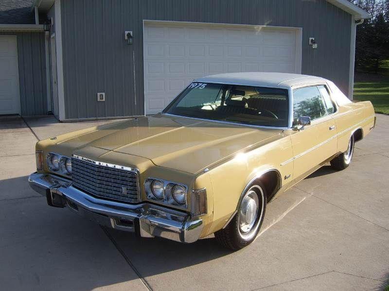 Car Brand Auctioned Chrysler Newport 1975 Car Model Chrysler