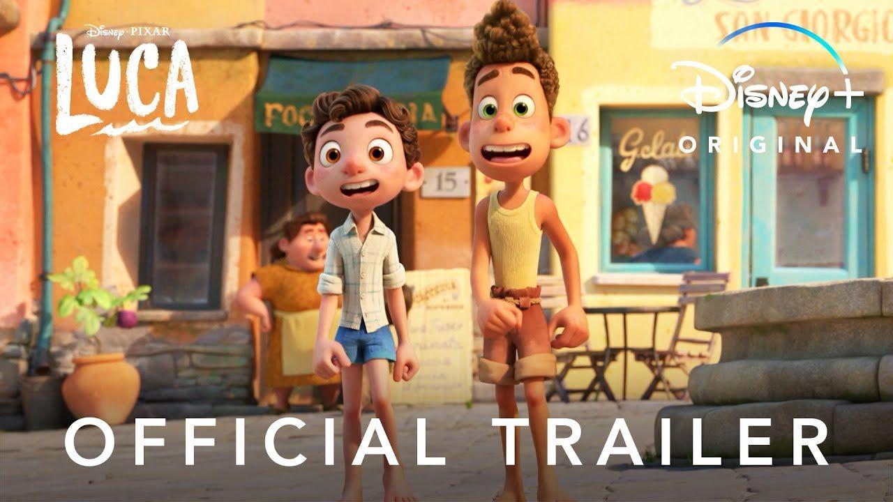 Disney And Pixar S Luca Official Trailer Disney In 2021 Official Trailer Lucas Movie Disney Pixar