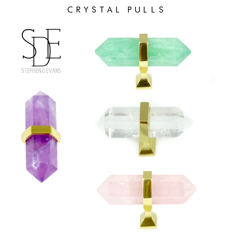 Small crystal pullsdresser pulls stephen d evans bespoke living