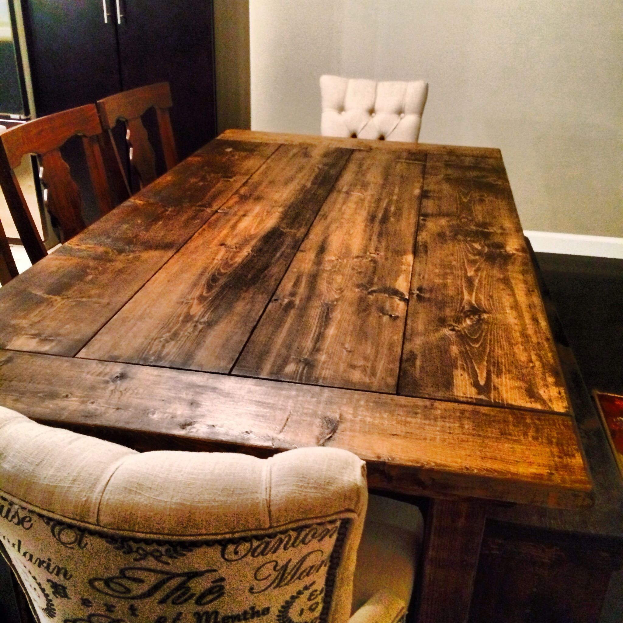 Hand Made Farm Table. Made In West Virginia.