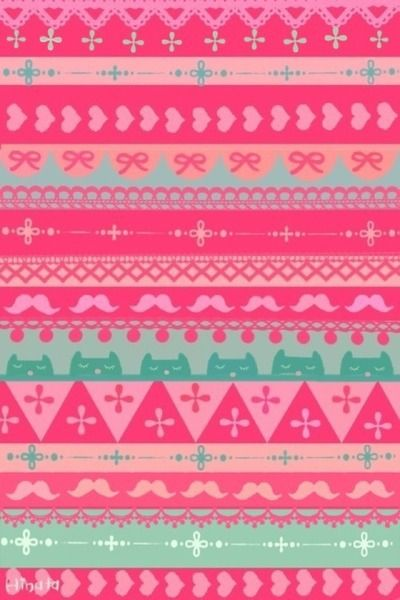 Pink Pattern Pretty HD Wallpaper For IPhone