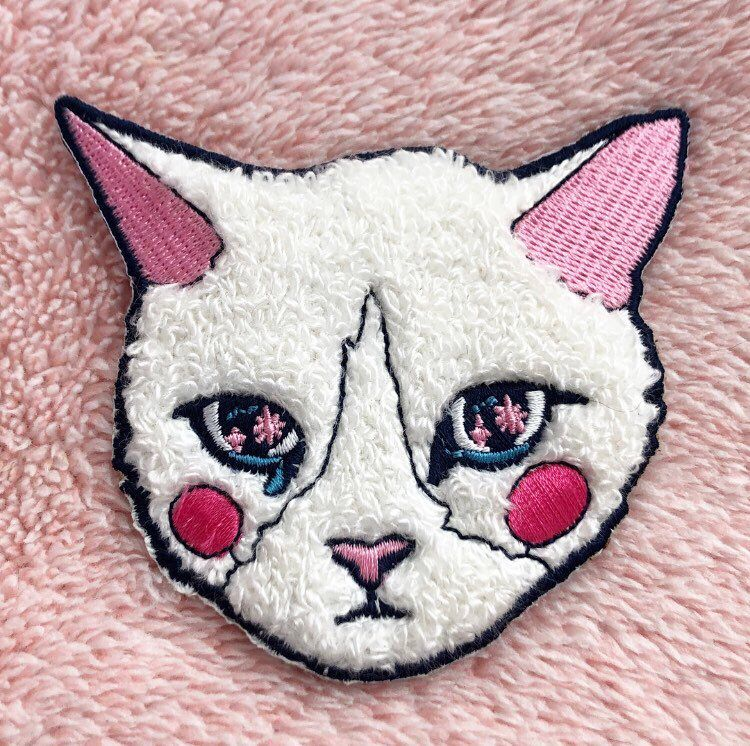 Cry baby cat sewon patch cry baby patch cat patch