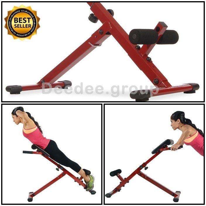 Hyper Core Folding Portable Back Muscles Bench Abs Exercise Workout Machine Gym Workout Machines Abs Workout Back Muscles