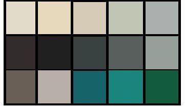 Мягкие  цвета  - это  самые  спокойные  цвета  палитры, не  привлекающие  особого внимания.  Обычно  их  используют  в  базовой  одежде. Это  фон, все  то, что  будет  спокойно  сочетаться  с  другими  цветами  палитры, не  привлекая  к  себе  внимания.