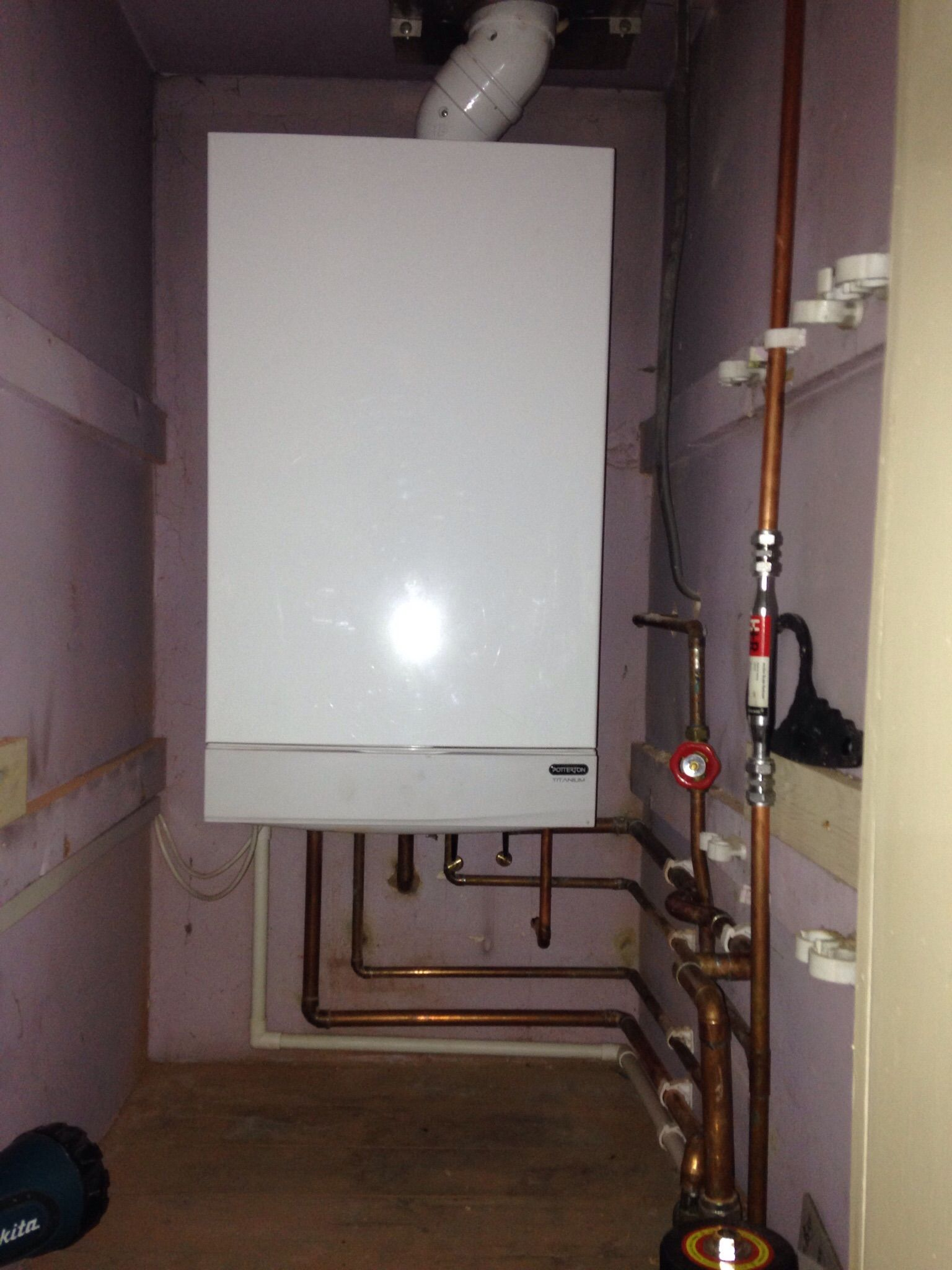 Full System Upgrade From Conventional With Back Boiler To Potterton Titanium Combination Boiler Decor Home Decor Home