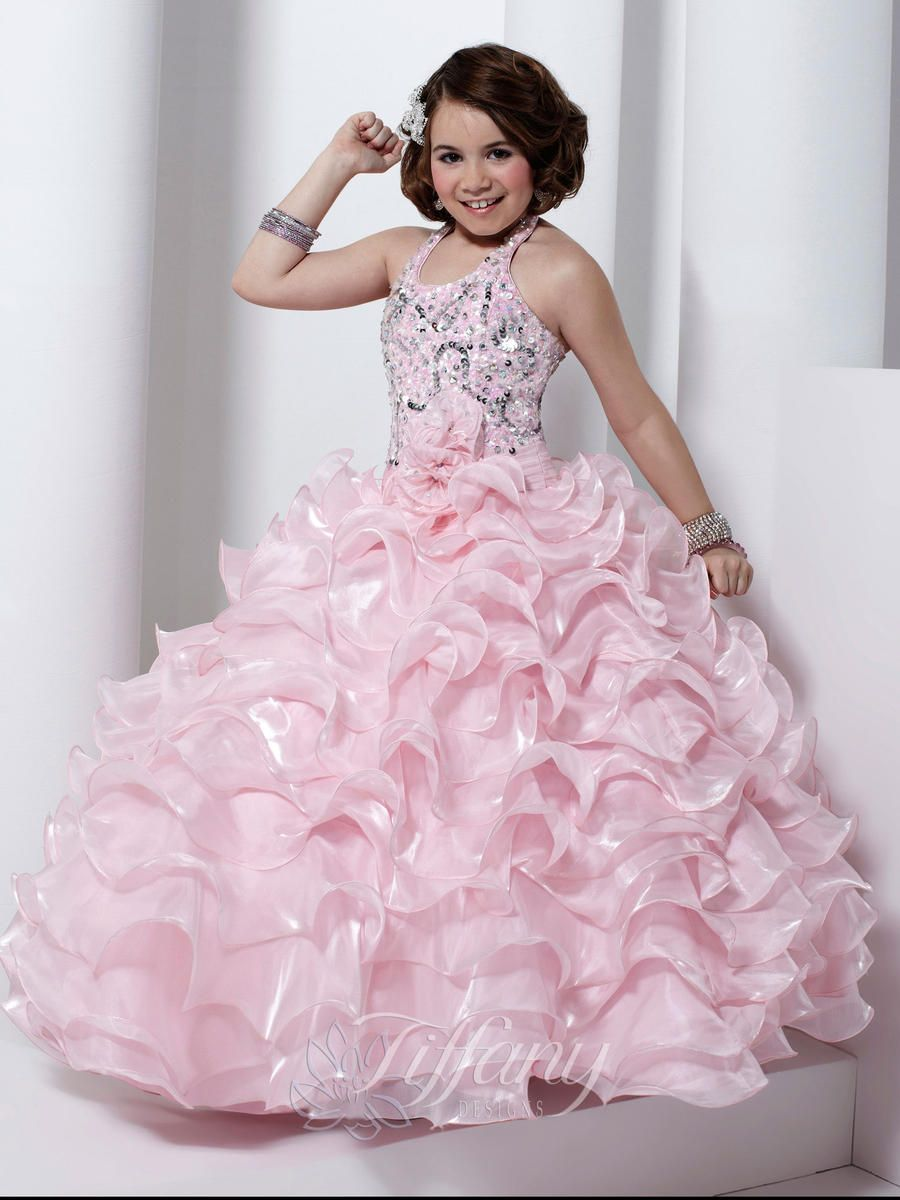 Girls Pageant Dresses by Tiffany 13316 | Pageant Dresses | Pinterest ...
