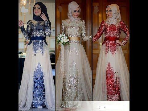 92d3ea8c2 فساتين سواريه تركية للمحجبات 2018 - YouTube | hijab style in 2019 ...