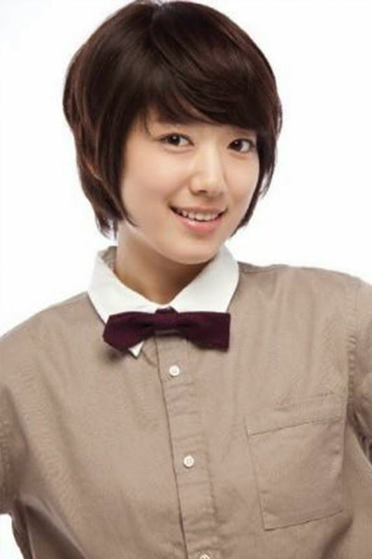 Model Rambut Pendek Rambut Pendek Park Shin Hye Potongan Rambut Pendek