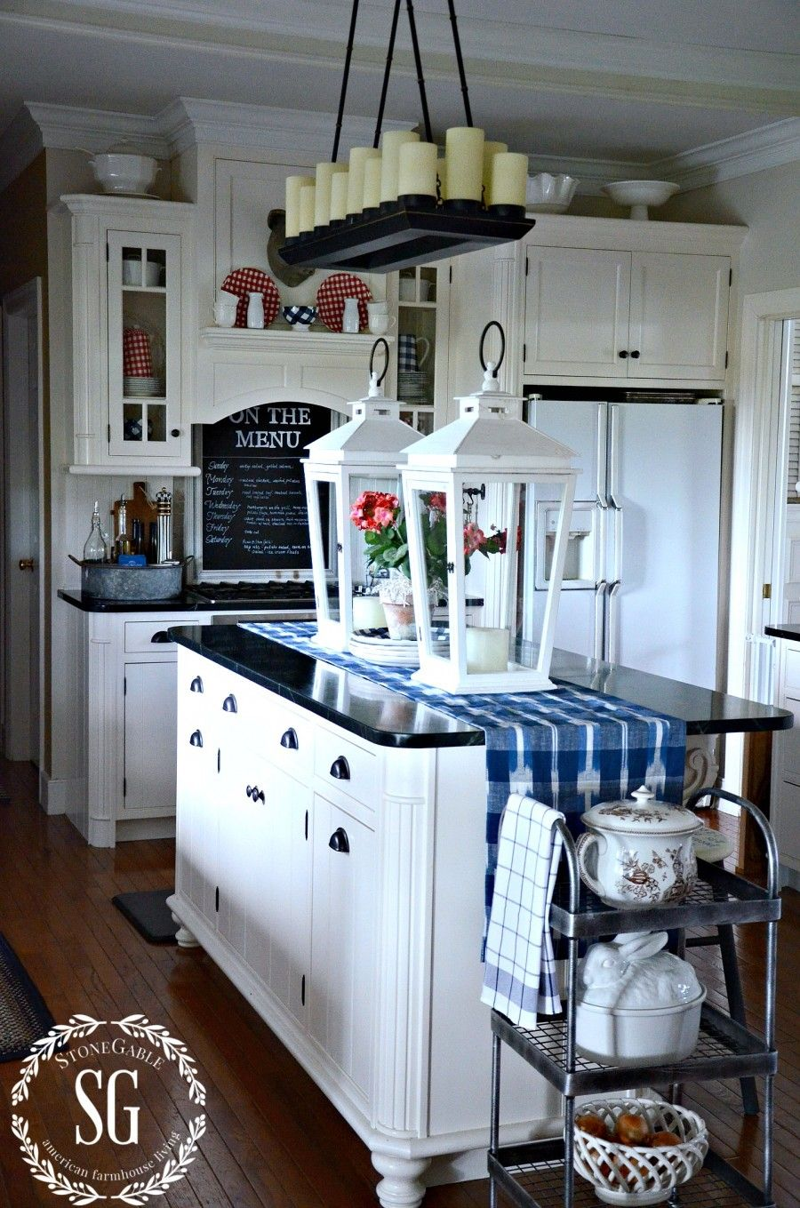 bHOME SUMMER OPEN HOUSE TOUR | Pinterest | Summer kitchen, Open ...