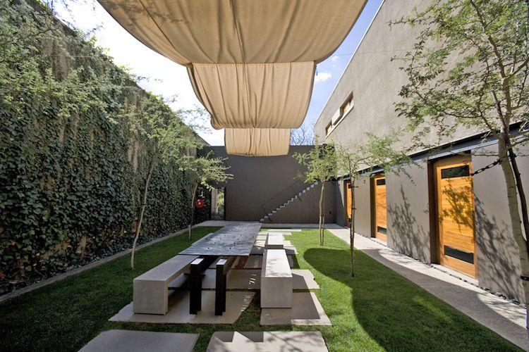 21 Gartenabtrennung Ideen Für Das Moderne Stadthaus Garten