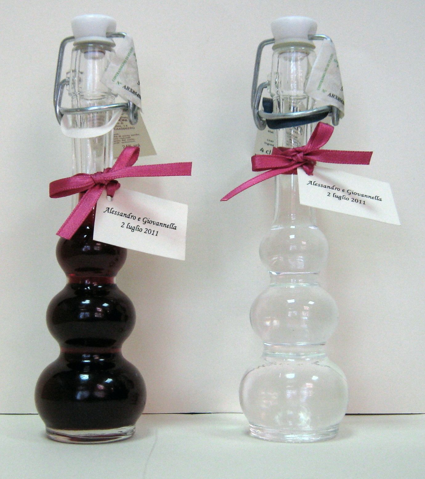 Wedding favors Bomboniera Mirto e Grappa typical Liqueur 40 ml ...