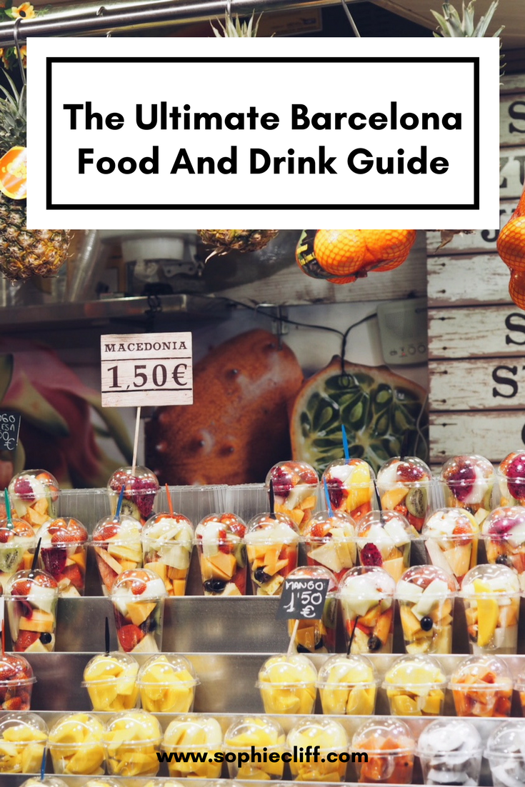Photo of The Ultimate Barcelona Food And Drink Guide — Sophie Cliff