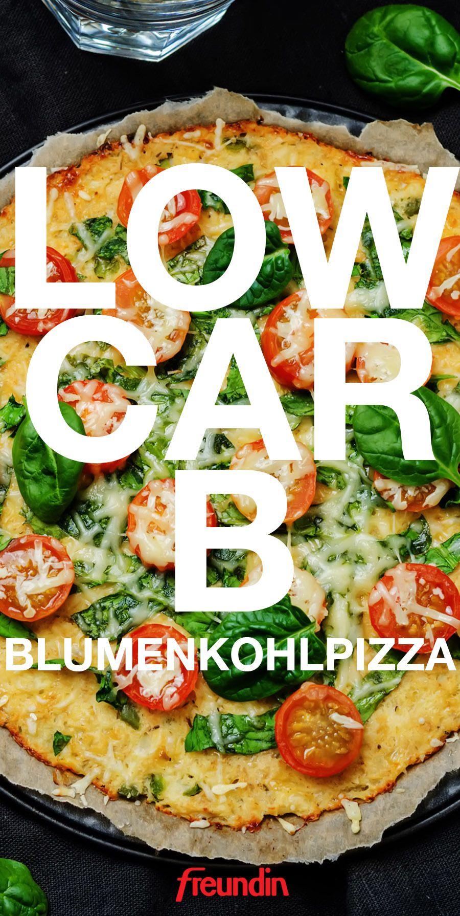 Low-Carb-Pizza mit 5 Zutaten