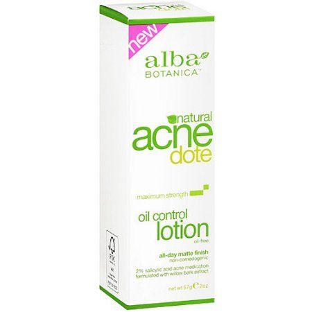 Alba Botanica Acnedote Maximum Strength Oil Control Lotion 2 Oz Walmart Com Alba Botanica Alba Botanica Acnedote Botanica