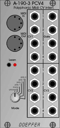 Doepfer A 190 3 Pcv4 Polyphonic Midi Cv Interf Good Music Synthesizer Midi