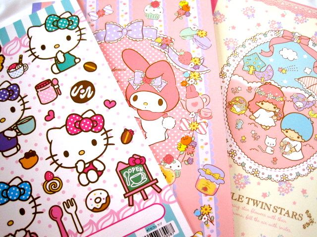 KAWAII stationery can make your new week more wonderful & lovely!  http://www.fanfunjapan.jp/