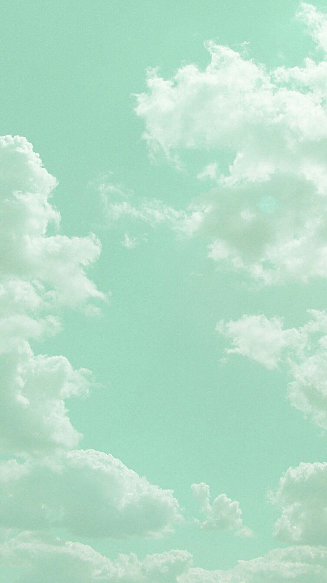 Pastel Vintage Blue Aesthetic Wallpaper