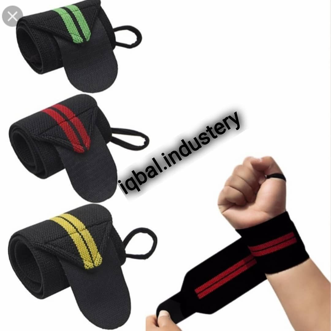 New Style check bord wrist wraps all colours and all size  Available iqbal.industery  MOQ 50 pieces...