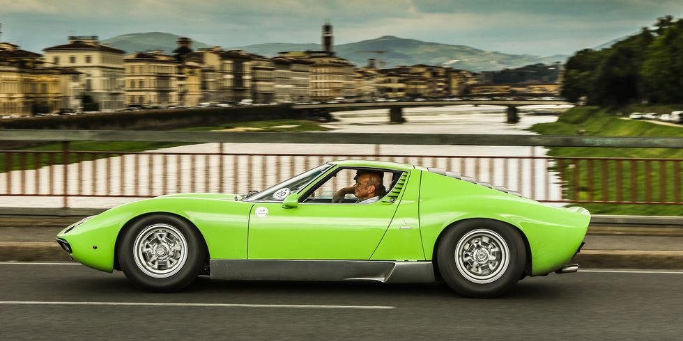 The Lamborghini Miura Is What Happens When Young Engineers Run Wild