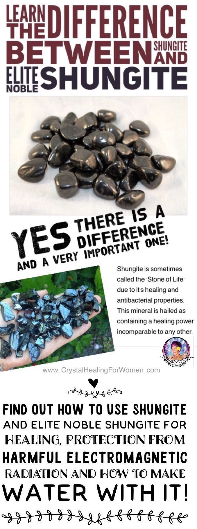 Learn The Difference between Shungite AND Elite Noble