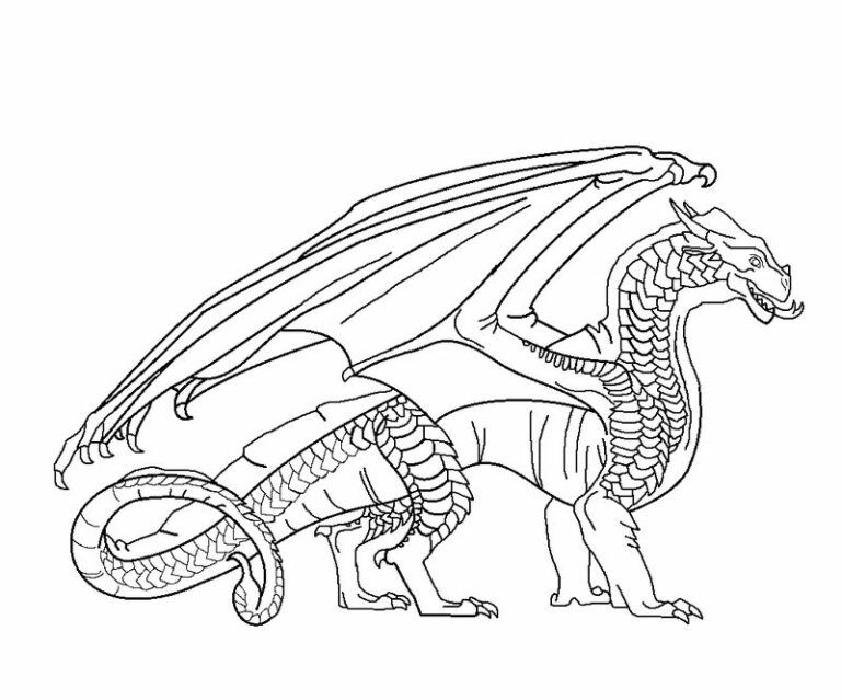 Free Dragon Coloring Pages Printable Printable Coloring Pages To Print In 2020 Dragon Coloring Page Wings Of Fire Wings Of Fire Dragons