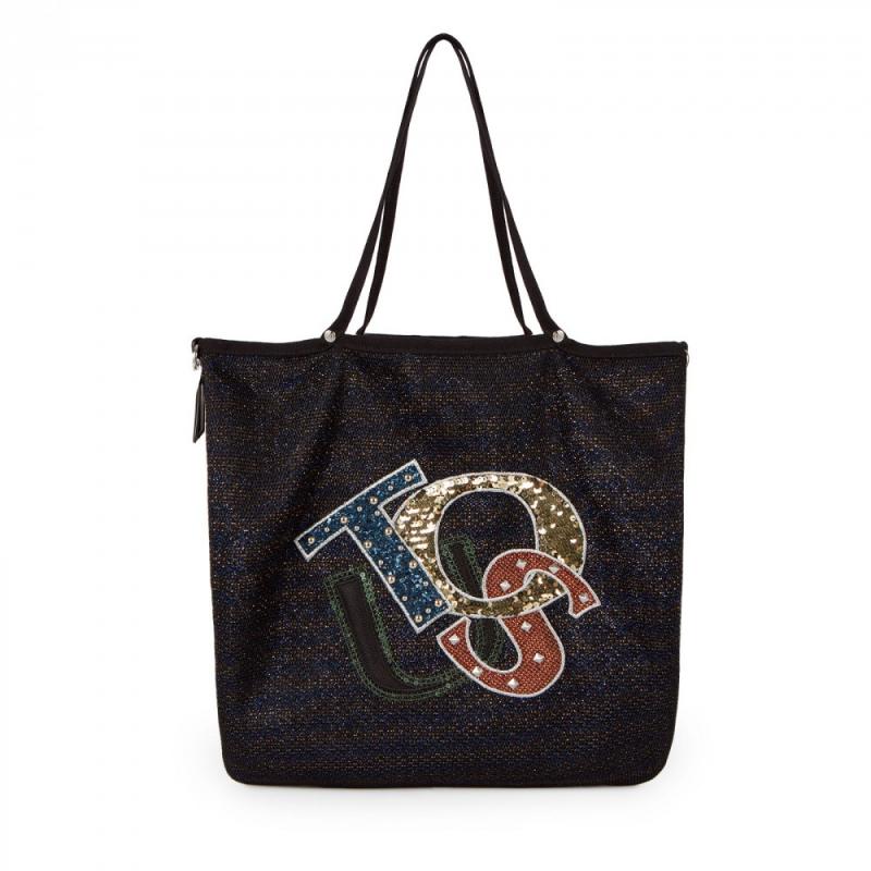última moda claro y distintivo amplia selección de diseños Bolso TOUS Shopping de la colección JODIE LOGO. Tejido de ...