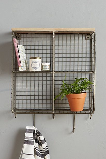 Quadrant Wall Cubby Anthropologie
