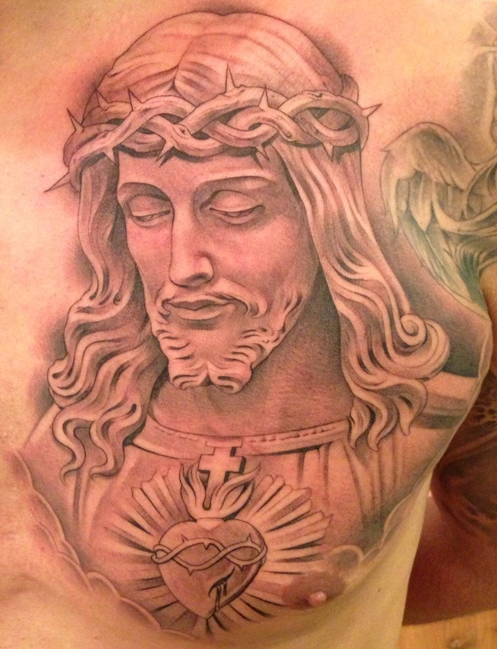 Tattoos jesus may have gotten jesus tattoo tattoo and for Tattoo of jesus