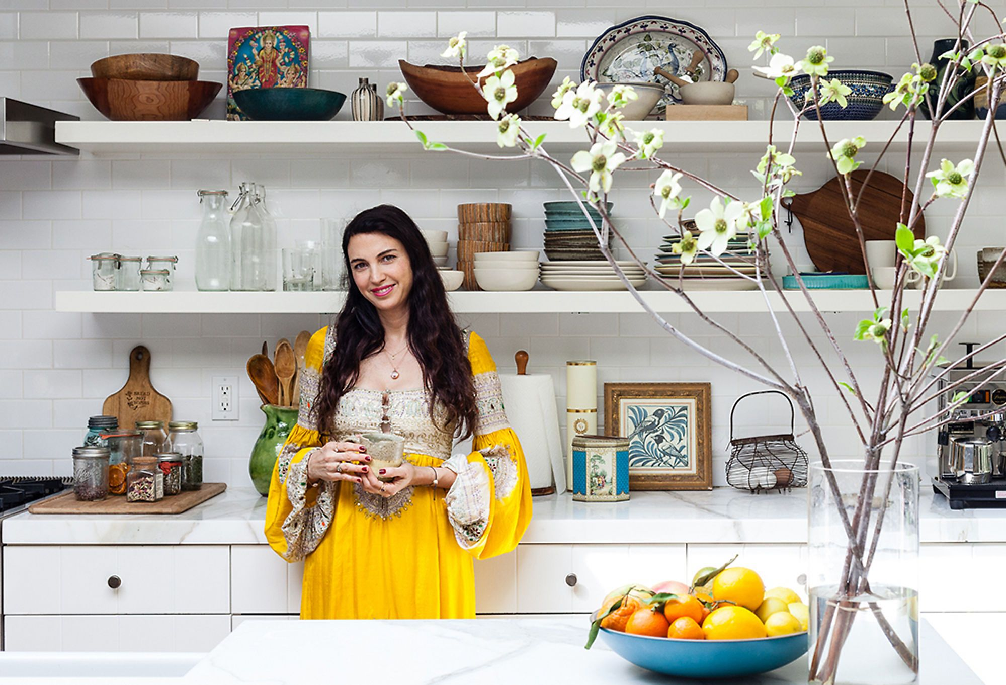 At Home With : Shiva Rose