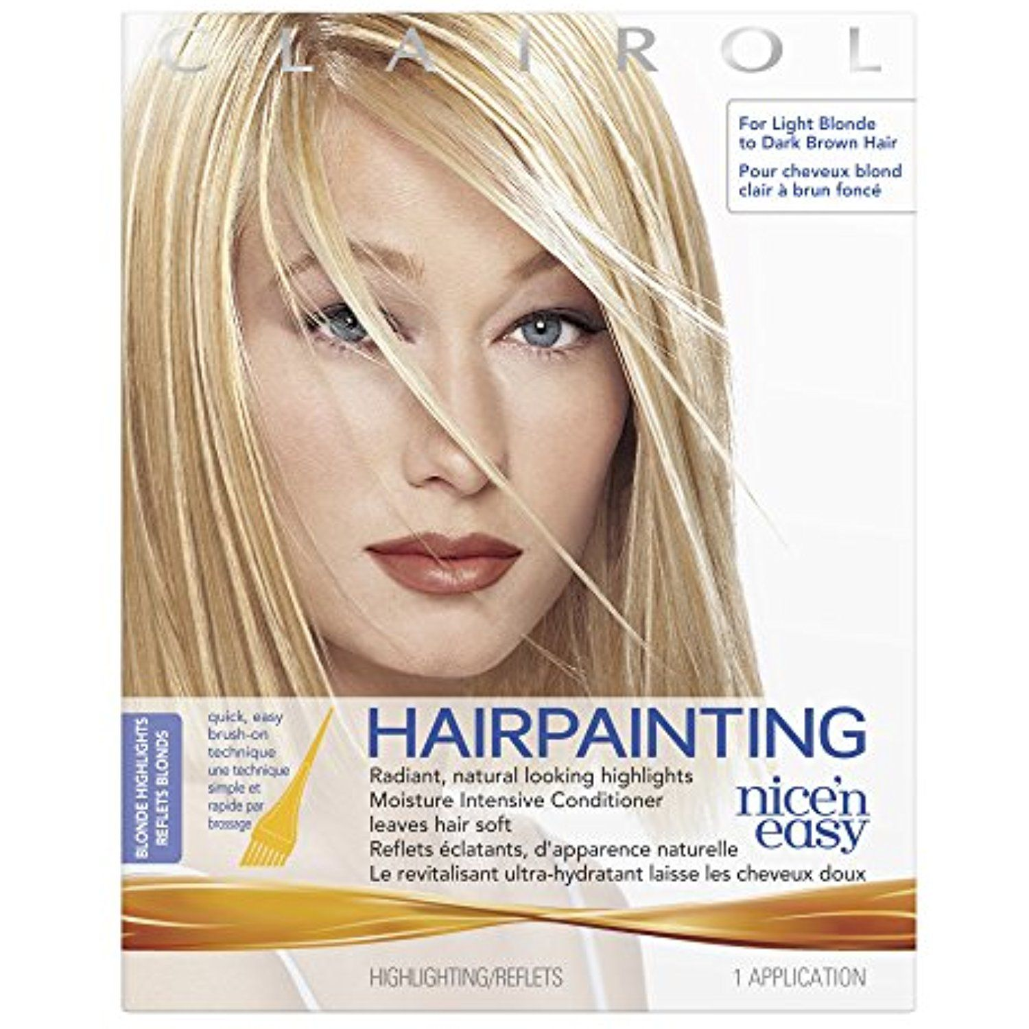 Nice N Easy Hairpainting Blonde Highlights 1 Kit Pack Of 3