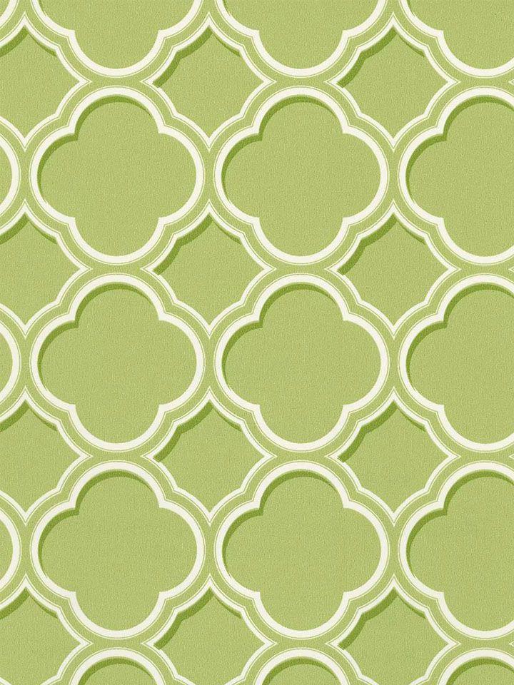 Olive Sh80004 Geometric Trellis Wallpaper By Seabrook