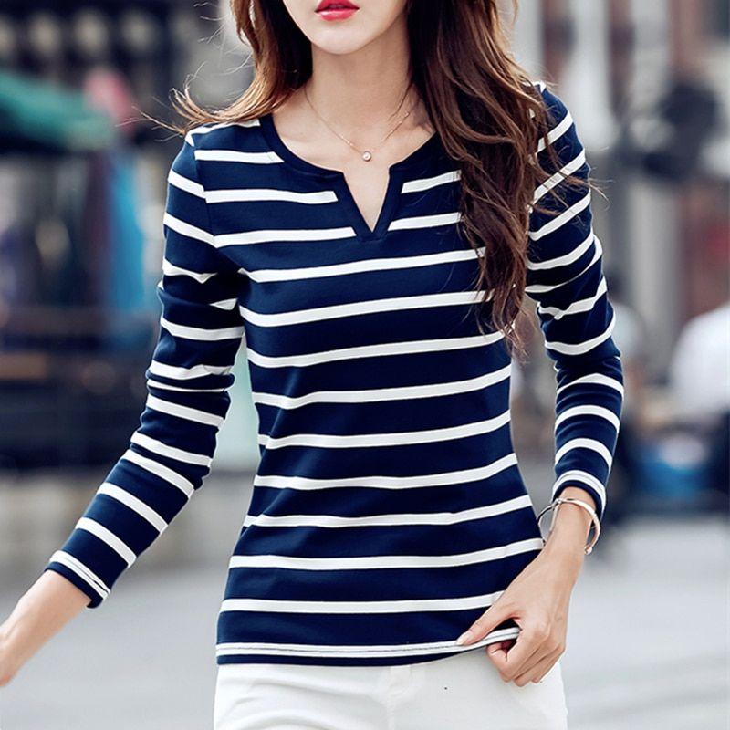 3bfd164270f5 Sperwillton T-shirt Women 2018 Autumn camisa feminina Cotton Female T  Shirts Tops Feminine Casual Price  18.00   FREE Shipping  fashion  style   stylish ...