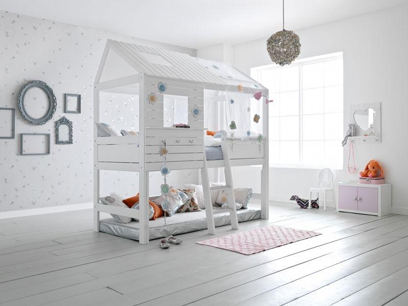 Badroom letto a casetta con scala per bambini playroom - Stanza da letto ikea ...