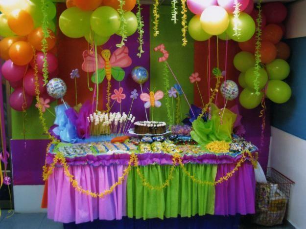 Decoraciones En Papel Para Fiestas Infantiles Buscar Con Google Decoracion De Cumpleanos Fiesta De Cumpleanos De Mariposa Fiestas Tematicas Para Ninos
