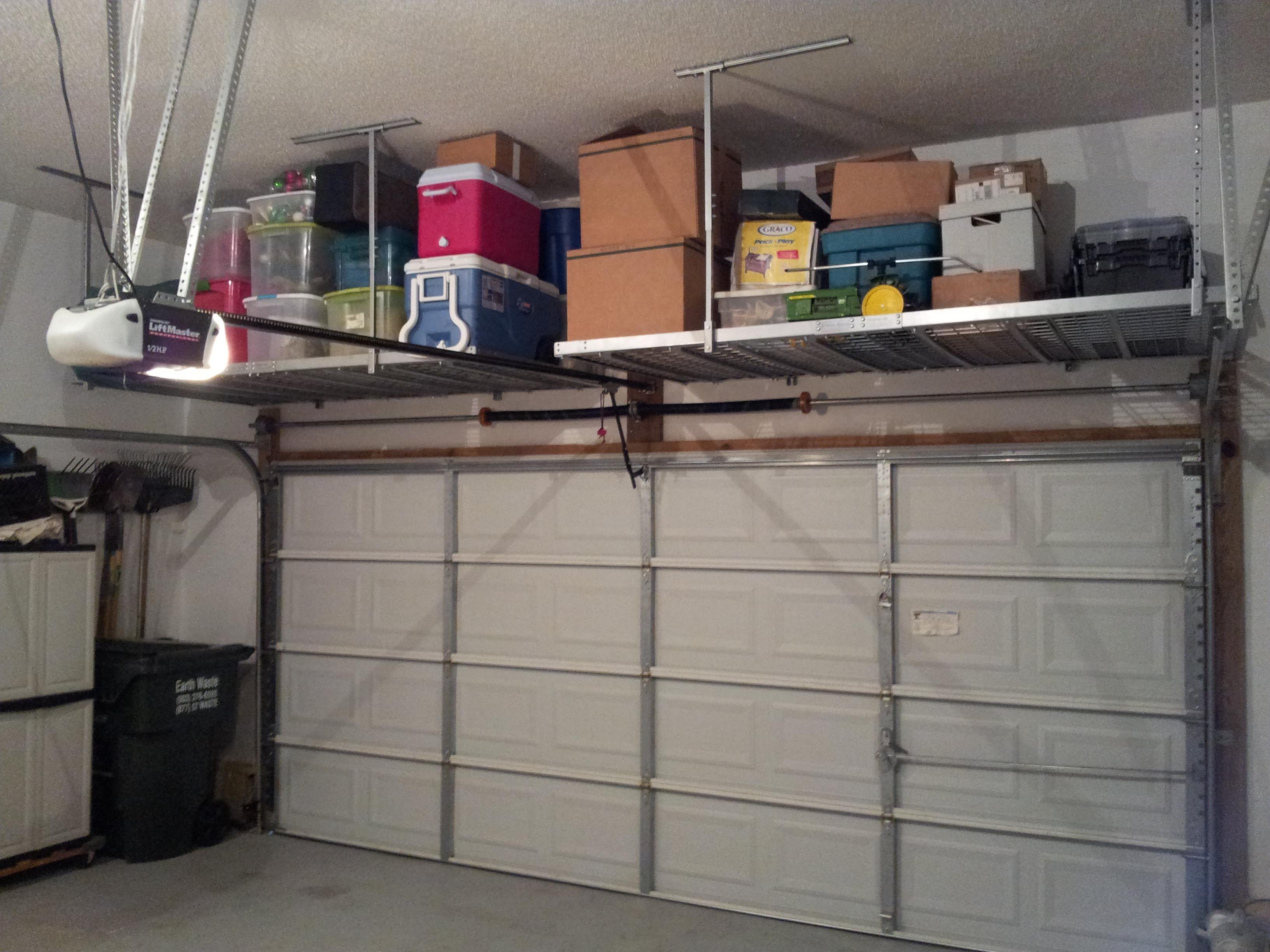 Superb garage storage cabinet plans diy overhead garage storage