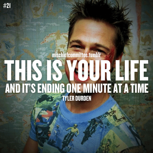 Fight Club... Quotable quotes, Quotes to live by, Quotes