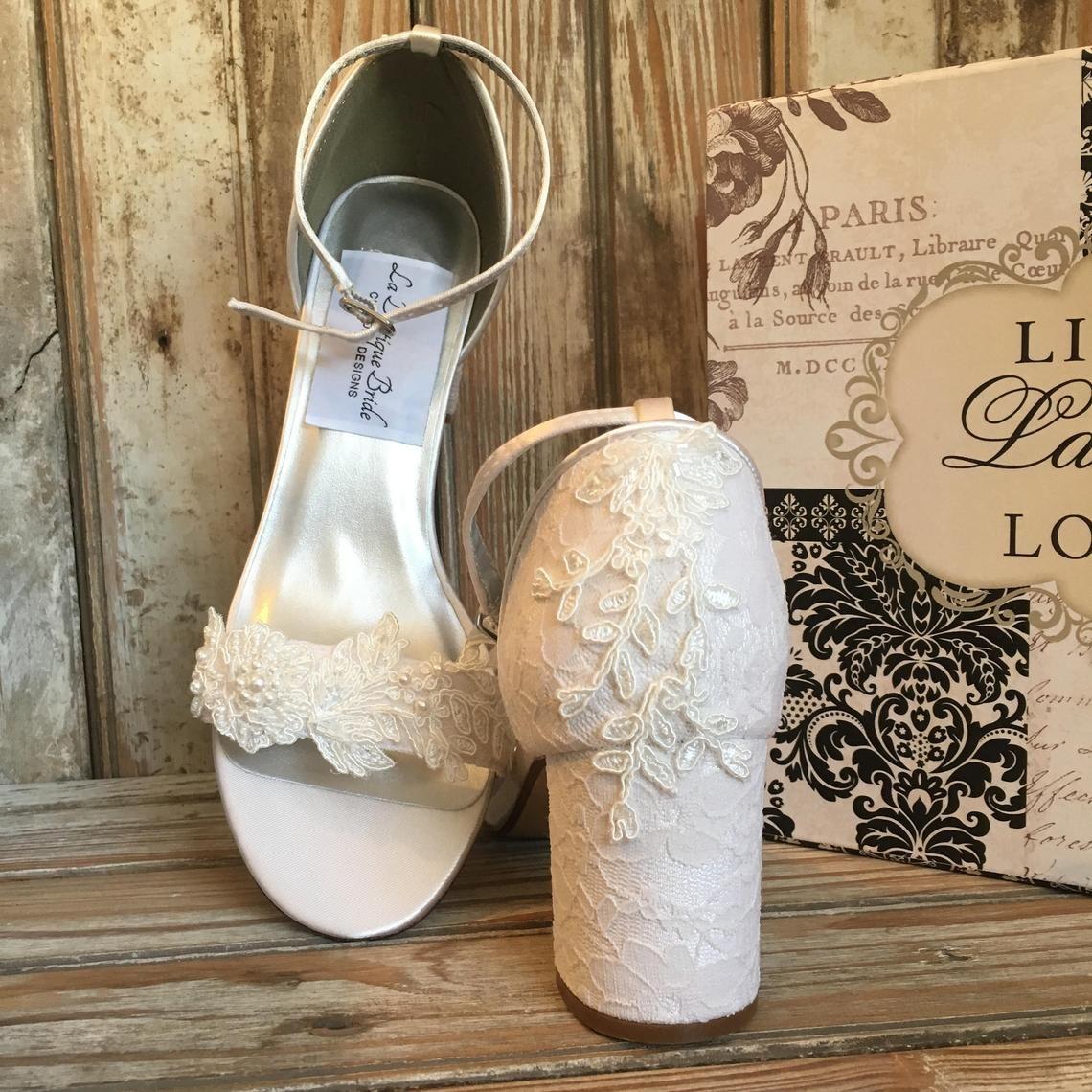 Image 0 Wedding Shoes Heels Wedding Shoes Block Heel Wedding Shoes Lace