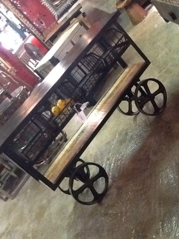 Industrial kitchen trolley