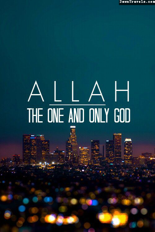 Islamic Quotes Allah Only