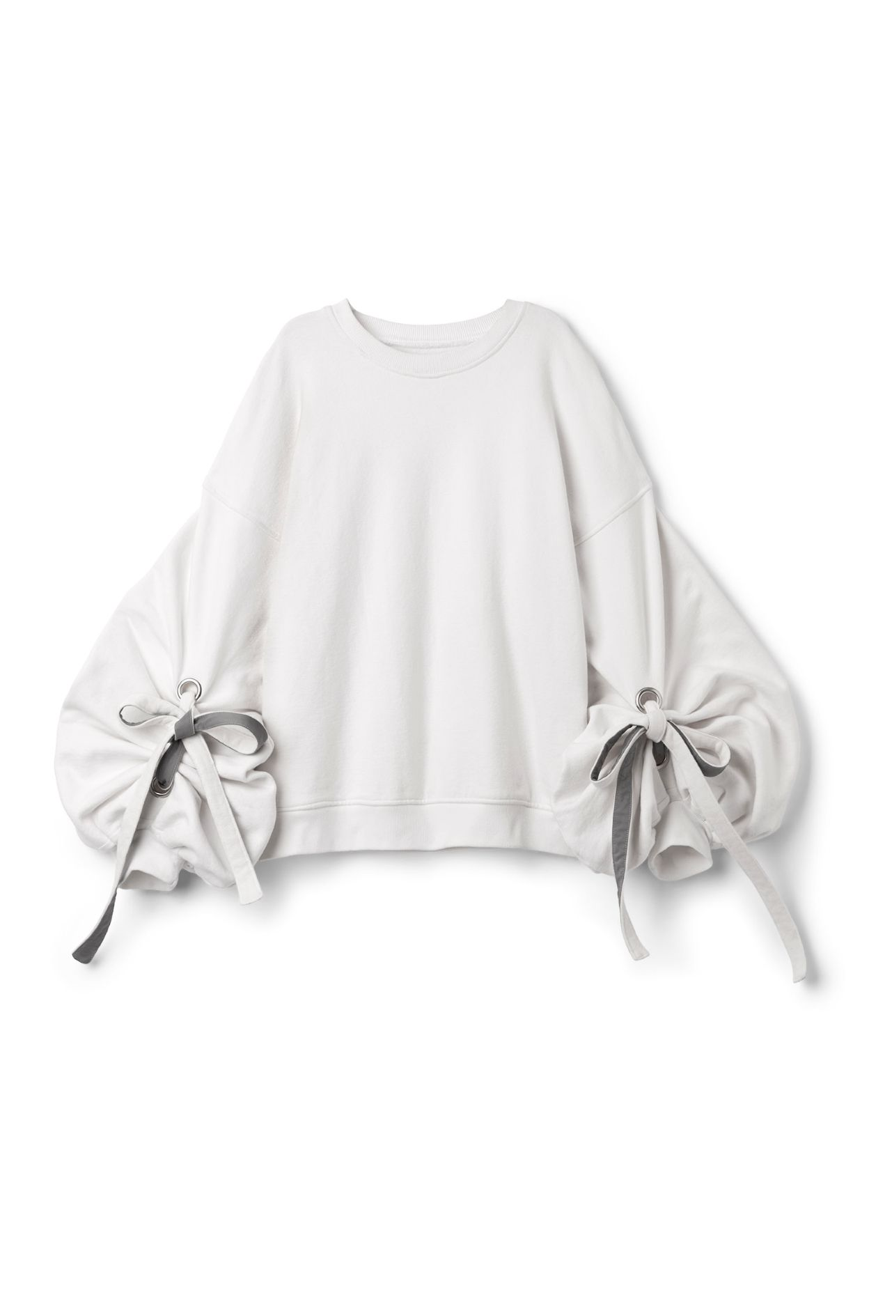 Weekday image 1 of Sweater With Edwardian Sleeves in Off white ...