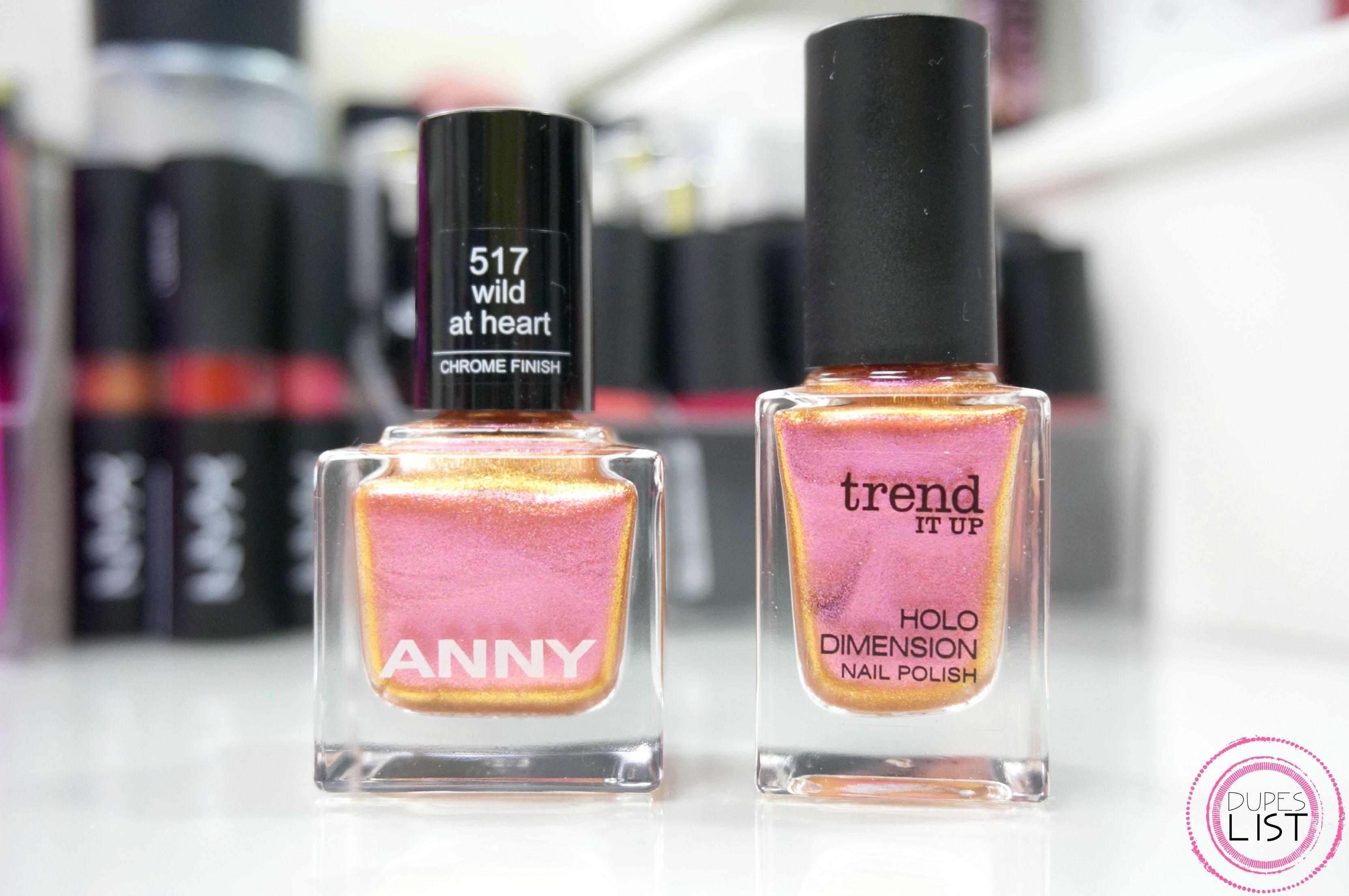 Ein ANNY Dupe im Holo-Style Hallo ihr Lieben, heute möchte ich euch ...