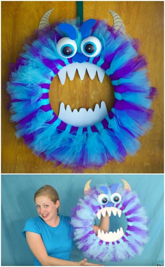 Photo of 30 Monster Doors and Monster Wreaths to Greet Trick-or-Treaters This Halloween